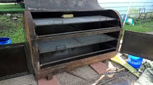 the great smoker build 275 gal fuel oil tank smokerbuilder com