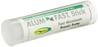 alum bond hy poxy h 259 alumfast rapid cure aluminum filled