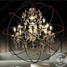 Chandelier Restoration Lighting Online Get Cheap Crystal Ball Chandelier Lighting