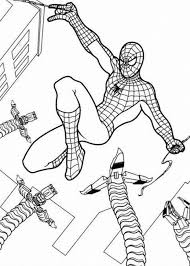 kids coloring pages spiderman spiderman colouring pages