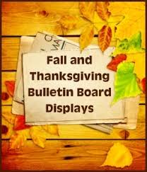 thanksgiving bulletin board displays and puzzles for november fall