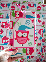 owl christmas wrapping paper ljcfyi wrapping themes
