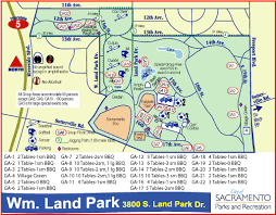 Ccw Map William Land Regional Park City Of Sacramento