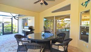 Covered Lanai Villa Blue Pearl Sunshine State Rentals Llc