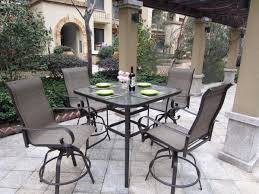 Patio Bar Height Tables Outdoor Patio Furniture Bar Ideas Mchair Mixed Square