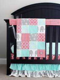 Girly Crib Bedding Best 25 Elephant Crib Bedding Ideas On Pinterest Elephant Inside