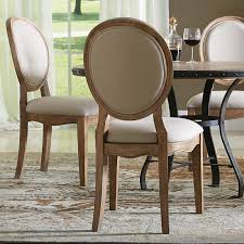 Modern High Back Dining Chairs Riverside Sherborne Oval Back Upholstered Side Dining Chairs Set