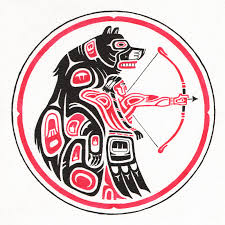 6 best images of native american bear clip art native american