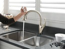 free kitchen faucets touch sensor kitchen faucet just wave above or below a free