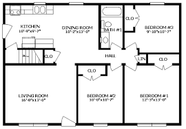 ranch home floor plan ranch modular home floor plans the york i bsn homes