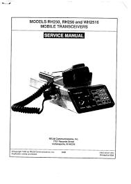 relm rh256 radio manual