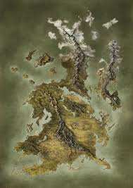 Fantasy World Map by Handpainted Fantasy Map Concept By Djekspek On Deviantart