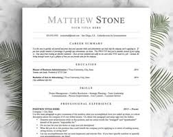 Resume Template For Openoffice Professional Resume Templates Cv Templates By Landeddesignstudio