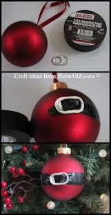 diy santa ornament craft idea santa ornaments soda tabs and