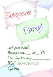 slumber invitations to print cimvitation