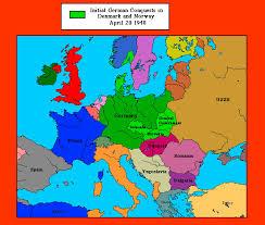 map of earope world war ii maps