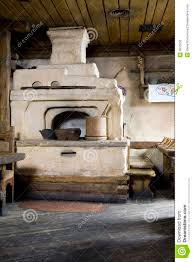 interior of russian house stock photo image of stove 9016502