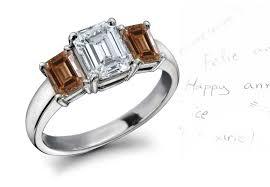 browns wedding rings green orange blue white diamond eternity ring pink yellow gold
