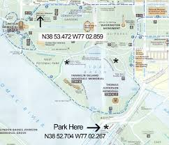 Map Of The National Mall Vietnam Memorial Washington Dc National Mall Photo Locations And