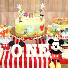 mickey mouse birthday ideas mickey mouse decoration ideas mickeys birthday cake topper