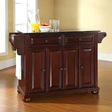 Darby Home Co Pottstown Kitchen Island With Granite Top  Reviews - Granite top island kitchen table