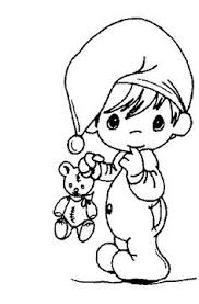 child swing precious moments coloring pages drawing