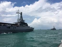 Singapore Navy Flag Gathering Of International Navies For Singapore Navy U0027s 50th