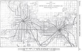 Muni Route Map by Twin City Rapid Transit Company Wikiwand