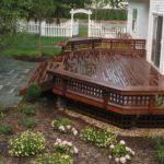 Deck Landscaping Ideas Outdoor Decor Backyard Landscape Design