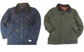 Plus Size Quilted Barn Jacket Polo Ralph Lauren Boys Size 6 Jacket Kids Quilted Barn Coat New Ebay