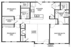 small 3 bedroom house floor plans 29 simple 3 bedroom house floor plans simple house floor plans 3