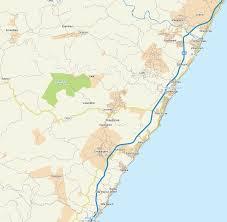 Swaziland Map Map Of Umzinto