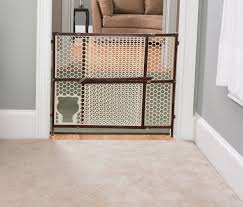 Child Gate Stairs by The Safety 1st Baby N Pet Gate Allows Small Pets To Pass Through
