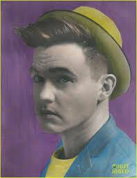 jesse mccartney bursts out in color on u0027livid u0027 mag cover