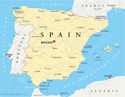 spain on a map spain on map roundtripticket me