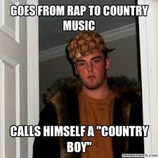Country Music Memes - from rap to country music