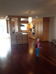 what hardwood floor color goes best with cherry cabinets cherry floors need wall color help