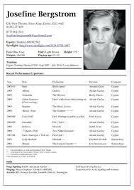 Pages Templates Resume Resume Theatre Resume Template Pages Acting Templates Best Ideas
