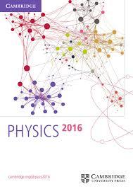 physics catalogue 2016 by cambridge university press issuu