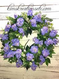 wreath for front door spring wreath summer wreath lilac wreath purple lilacs spring