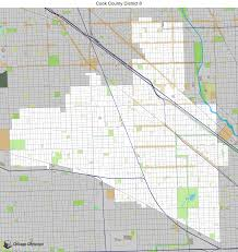 Cook County Il Map Map Of Building Projects Properties And Businesses In District 8