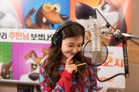 apink u0027s eunji shows off her dubbing and singing skills with