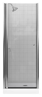 Fluence Shower Door Kohler K 702400 L Sh Fluence Frameless Pivot Shower Door Bright