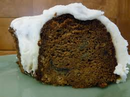 carrot banana bundt cake with cream cheese icing true love and