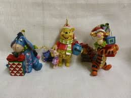 jim shore disney showcase collection pooh eeyore tigger ornaments
