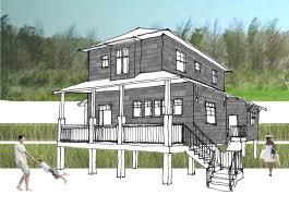 stilt house construction house plans building on stilts