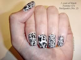 beautiful nail art designs crackle nail polish
