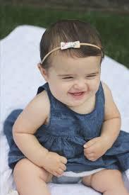 baby bling bows zack sydney 7 months 7 months postpartum 7 month bay