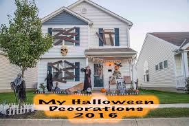 my halloween decorations 2016 youtube