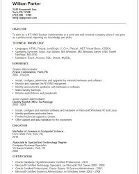 Security Job Description For Resume by System Administrator Job Description System Administrator Job